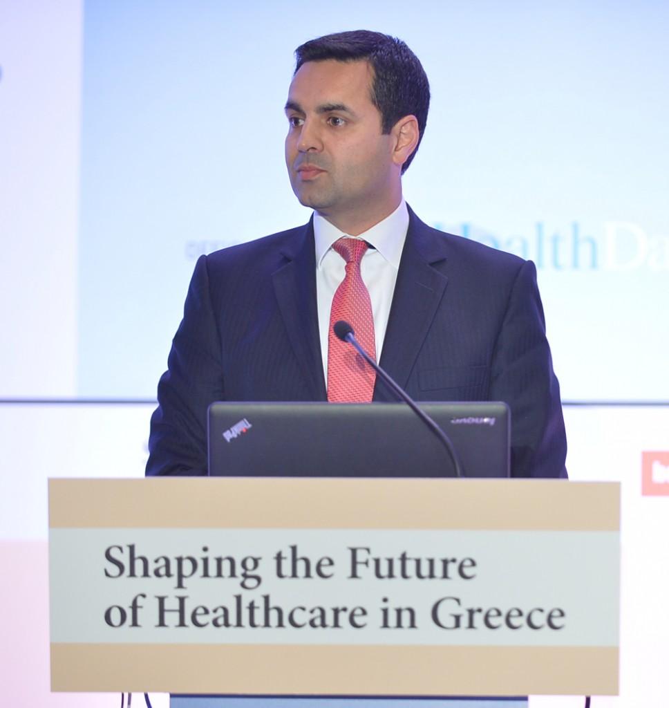 Ο κ. Haseeb Ahmad  Διευθύνων Σύμβουλος της MSD Ελλάδας, Κύπρου και Μάλτας,