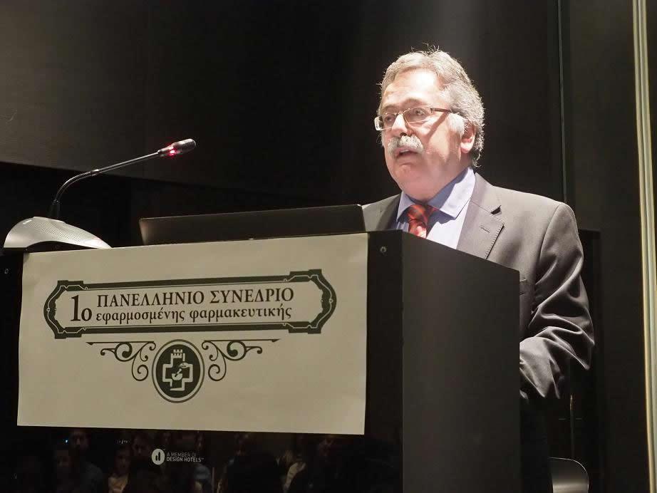 Κυριάκος Θεοδοσιάδης Πρόεδρος Φαρ. Συλ. Θεσσαλονίκης