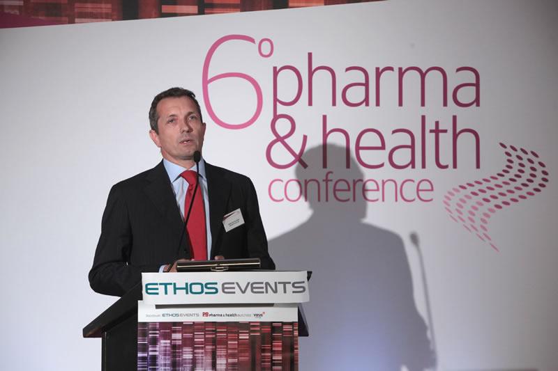 Ο Riccardo Canevari, Πρόεδρος & Διευθύνων Σύμβουλος, Novartis Hellas