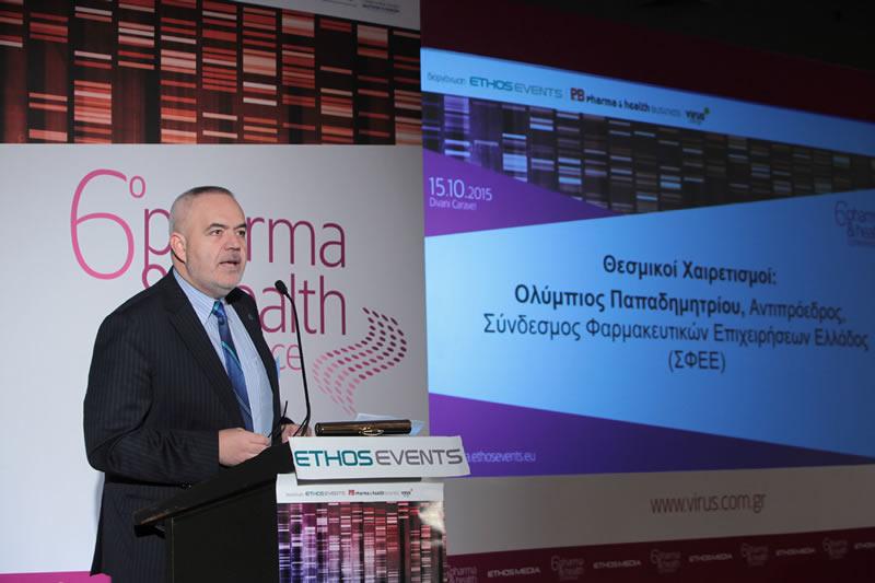 κ. Ολύμπιος Παπαδημητρίου, Αντιπρόεδρος ΣΦΕΕ και Γενικός Διευθυντής της NovοNordisk