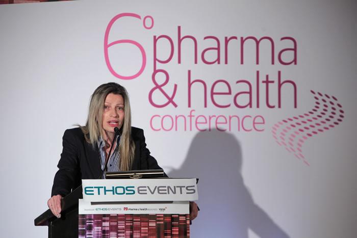 κα ΦαίηΚοσμοπούλου, Γενική Διευθύντρια της Πανελλήνιας Ένωσης Φαρμακοβιομηχανίας