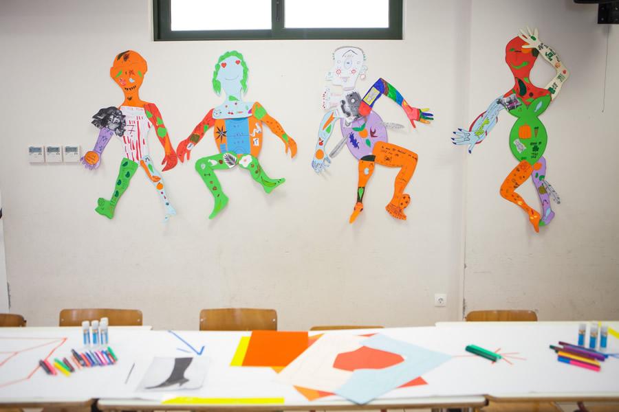 Δημιουργίες των μαθητών από το βιωματικό παιχνίδι
