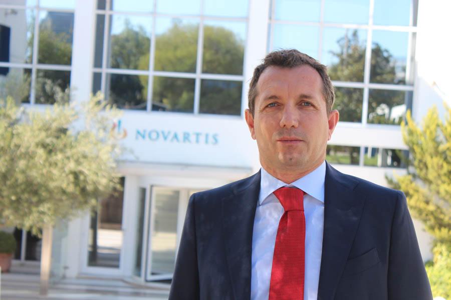 Ο Πρόεδρος και Διευθύνων Σύμβουλος της Novartis Ηellas, κ. Riccardo Canevari