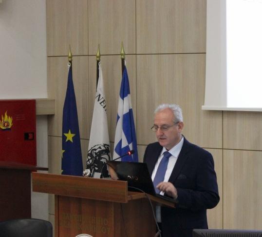ο αναπληρωτής καθηγητής της Ιατρικής Σχολής του ΑΠΘ, Παναγιώτης Μπαμίδης