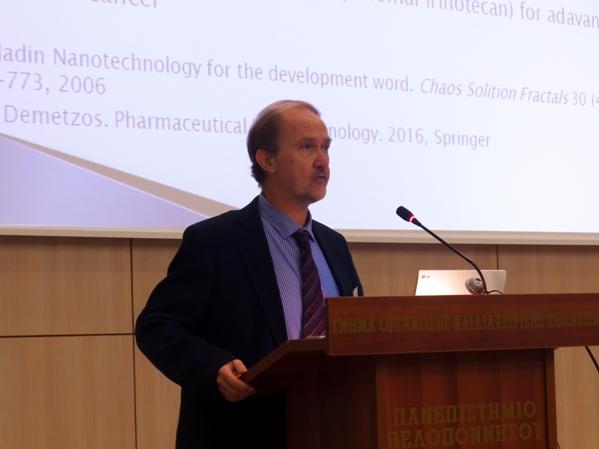 ο καθηγητής  Φαρμακευτικής Τεχνολογίας και πρόεδρος της Ελληνικής Φαρμακευτικής Εταιρείας (ΕΦΕ) Κωνσταντίνος Δεμέτζος.