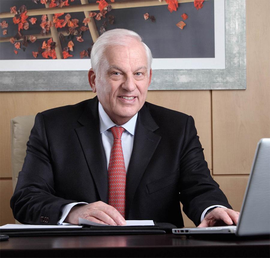 Ο Πρόεδρος του Ομίλου Δρ. Γεώργιος Σταματίου
