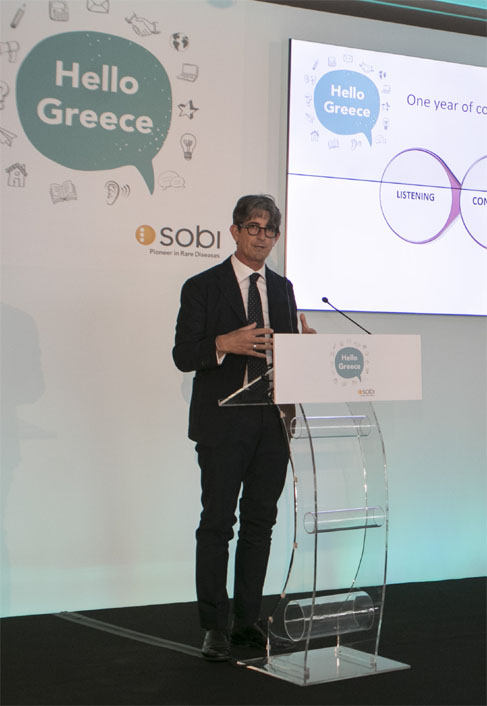 o Nicola Zancan, Country Manager Sobi, Ελλάδα, Κύπρος & Μάλτα