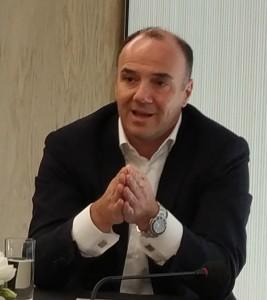 Ο κ. Σοφιανός Γεώργιος, CEO του Ομίλου