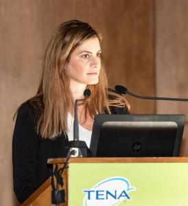 κα Αφέντρα Καραμολέγκου (Βrand Manager TENA Retail Greece)