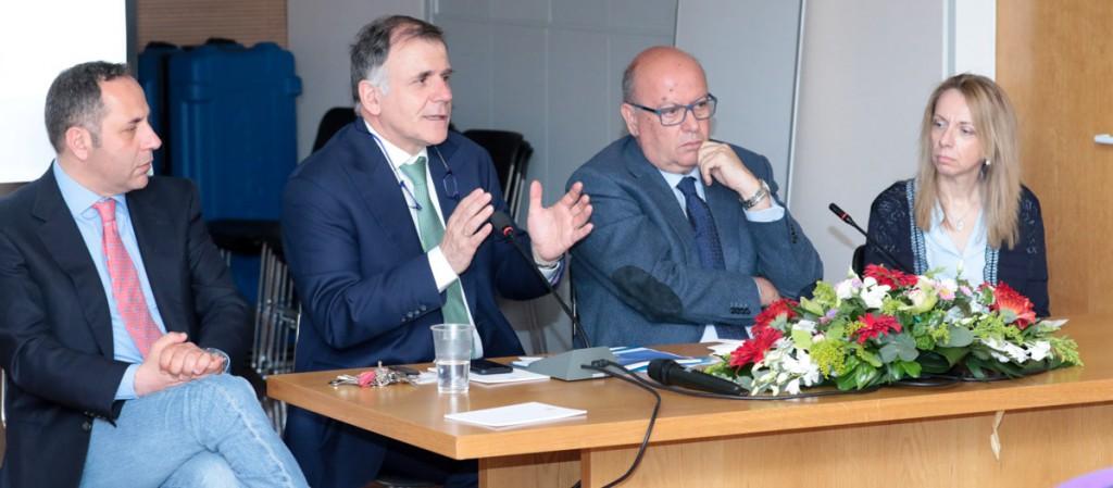 Από Αριστερά: Οι κ.κ Κώστας Θωμόπουλος, Κωνσταντίνος Τσιούφης, Ιωάννης Κανάκης και η κα  Χριστίνα Χρυσοχόου