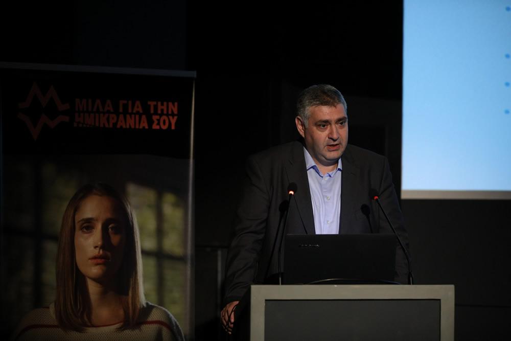 κ. Γρηγόριος Ρομπόπουλος MD, Επιστημονικός Διευθυντής, Επικεφαλής Ιατρικού Τμήματος στη Novartis Hellas,