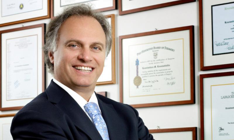 Ο Δρ. Κων. Κωνσταντινίδης είναι Επιστημονικός Διευθυντής του Ιατρικού Κέντρου Αθηνών