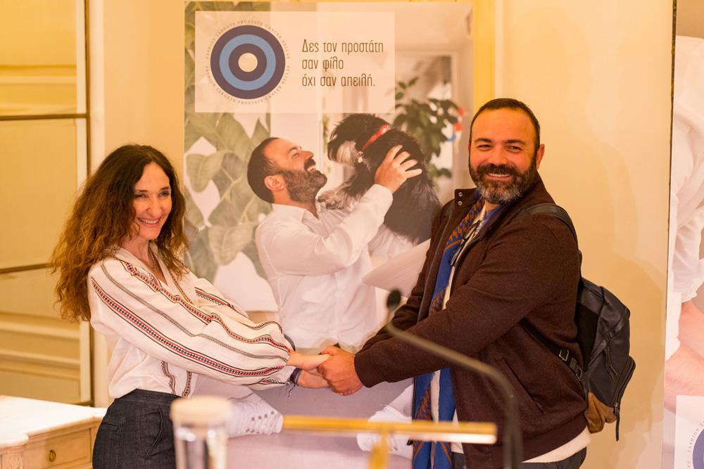 Από αριστερά: Ολυμπία Κρασαγάκη φωτογράφος, Ανδρέας Λαγός nomad chef (photo by Mike Tsolis)